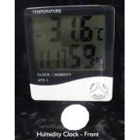 Digital Humidity Clock