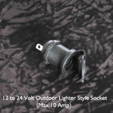 12-24 Volt Outdoor Lighter Style Socket