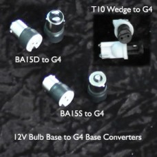 12 Volt Bulb to G4 Converters