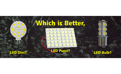 Which is Better, LED Disc, LED Panel or LED Bulb?