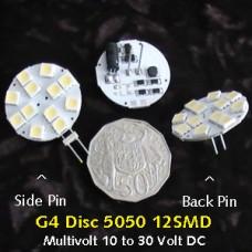 G4 LED Disc 5050 12SMD