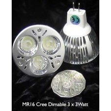 MR16 LED Dimmable CREE 9Watt