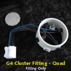 G4 Quad Cluster Fitting