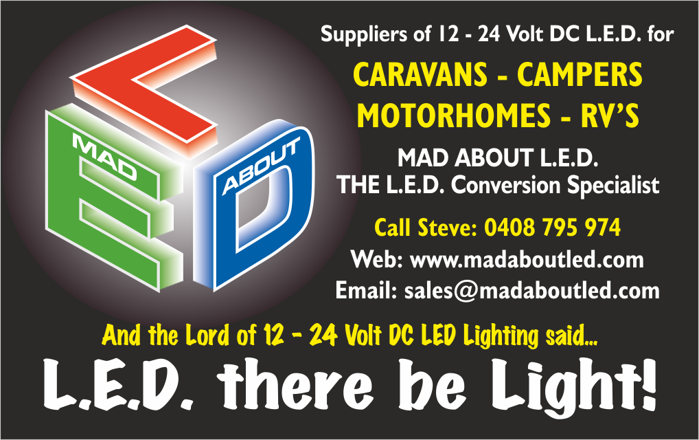 Mad About LED New Business Card Small