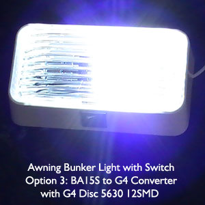 Awning Bunker Light