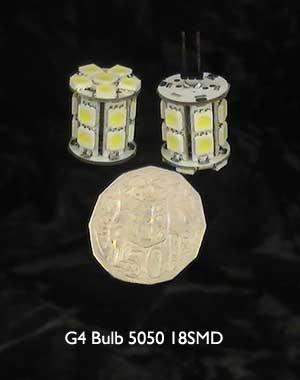 G4 LED Bulb 5050 18SMD