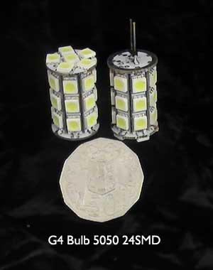 G4 LED Bulb 5050 24SMD