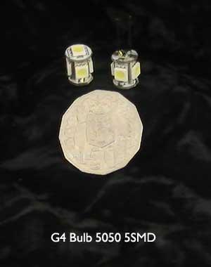G4 LED Bulb 5050 5SMD